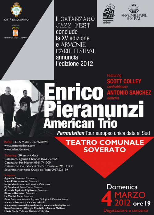 manifesto 2012 Pieranunzi